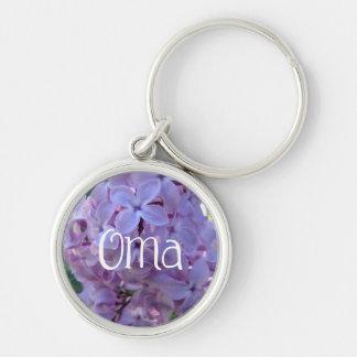 Porte-clés Lilas pourpres Oma