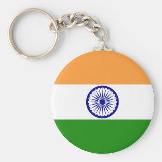 Porte-clés L'INDE : Drapeau de l'Inde