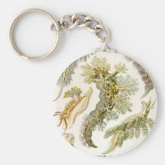 Porte-clés Lingots et escargots de mer vintages par Ernst