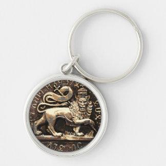 Porte-clés Lion éthiopien antique de Rasta de porte - clé de