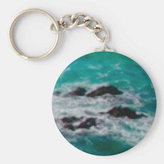 Porte-clés l'océan bascule le rivage