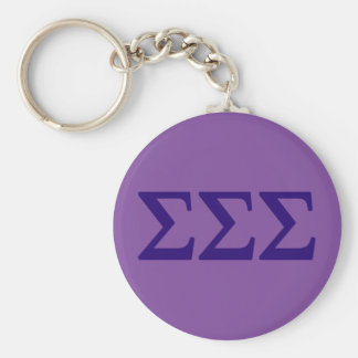 Porte-clés Logo de Lil de sigma de sigma de sigma grand