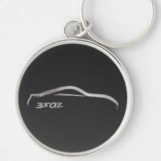 Porte-clés Logo de Nissan 350Z avec la fibre de carbone de