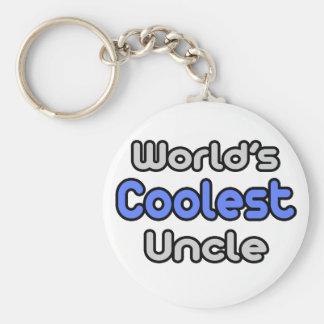 Porte-clés L'oncle le plus frais du monde