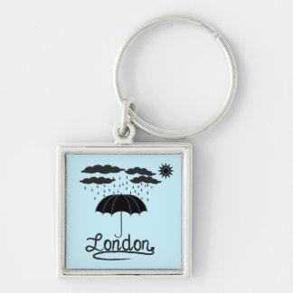 Porte-clés Londres | sous un parapluie