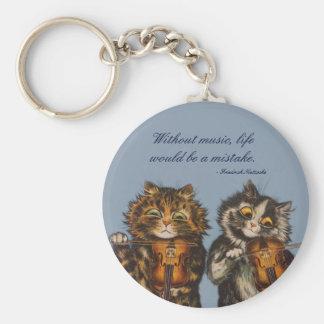 Porte-clés Louis Wain - un cadeau pour des amoureux de les