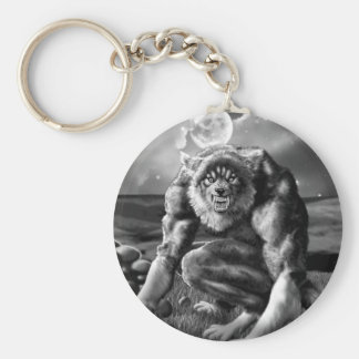 Porte-clés loup-garou