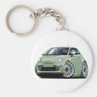 Porte-clés Lt Green Car de Fiat 500