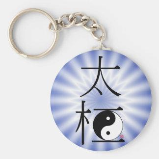 Porte-clés Lumière chinoise de Ying Yang de Chi de Tai