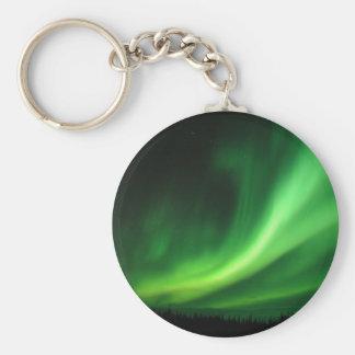 Porte-clés Lumières du nord de Borealis de l'aurore