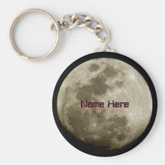 Porte-clés Lune lumineuse