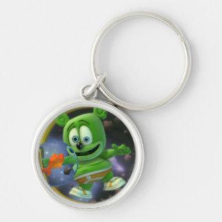 Porte-clés M. Monsieur Gummibär Round Keychain