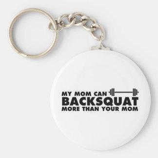 Porte-clés Ma maman peut Backsquat !