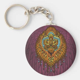 Porte-clés Ma voix intérieure, tarot, force, innerpower