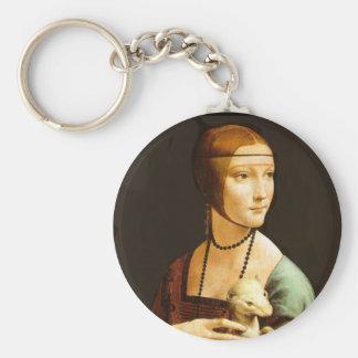 Porte-clés Madame avec la hermine