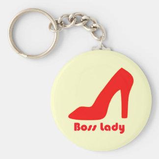 Porte-clés Madame de patron