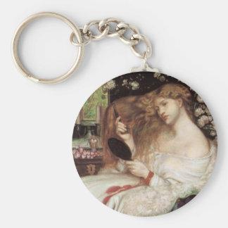 Porte-clés Madame Lilith par Rossetti, Portait victorien