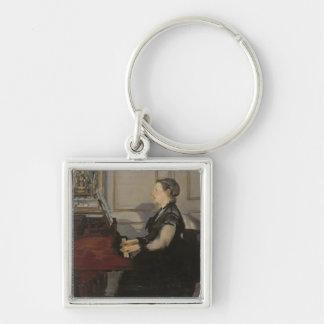 Porte-clés Madame Manet au piano, 1868 de Manet |