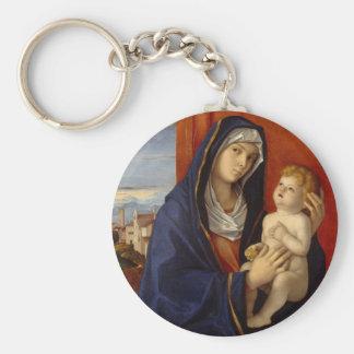 Porte-clés Madonna et enfant, circa 1485