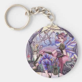 Porte-clés Maggie - porte - clé de fée et de chat
