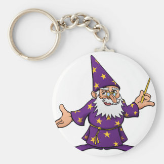 Porte-clés Magicien de bande dessinée