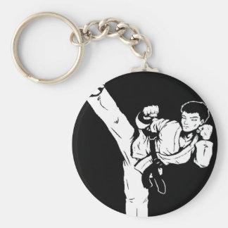 Porte-clés main vide de karaté