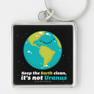 Porte-clés Maintenez la terre propre