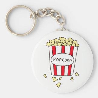 Porte-clés Maïs éclaté de salle de cinéma d'amusement en