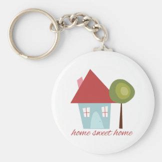 Porte-clés Maison douce à la maison