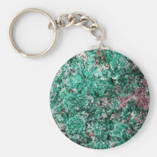 Porte-clés Malachite et cuivre