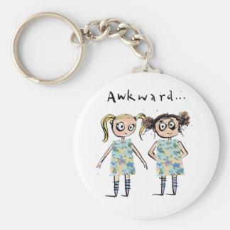 Porte-clés Maladroit - comme quand vous portez la même robe…