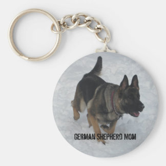 Porte-clés Maman de berger allemand