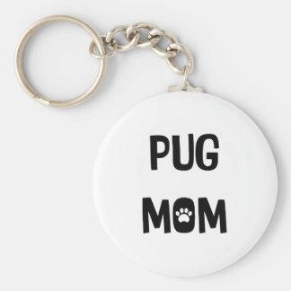 Porte-clés Maman de carlin