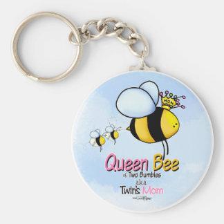 Porte-clés Maman de reine des abeilles de porte - clé de