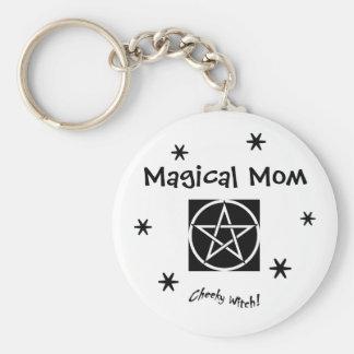Porte-clés Maman magique - le jour de mère - le porte - clé
