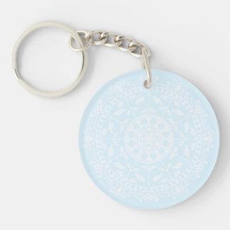 Porte-clés Mandala arctique