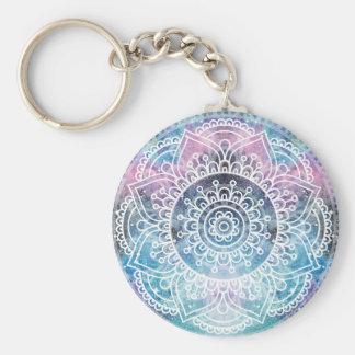 Porte-clés Mandala de galaxie