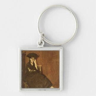 Porte-clés Manet | Berthe Morisot avec une fan, 1872