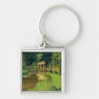 Porte-clés Manet | en parc