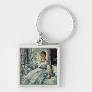 Porte-clés Manet | lisant, 1865