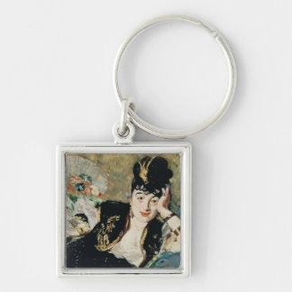 Porte-clés Manet | Madame avec des fans