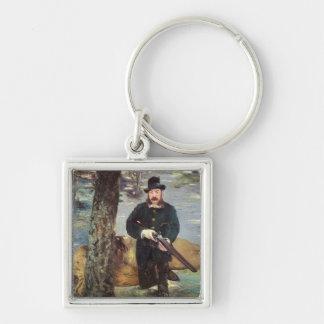 Porte-clés Manet | Pertuiset, chasseur de lion, 1881