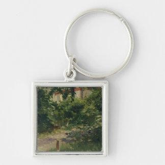 Porte-clés Manet | un coin du jardin en Rueil, 1882