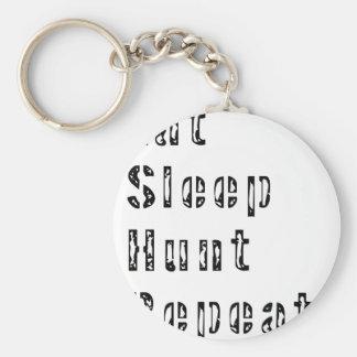 Porte-clés Mangez la répétition de chasse à sommeil