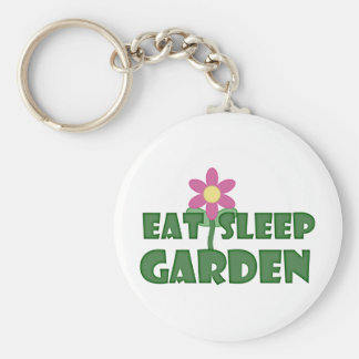 Porte-clés Mangez le jardin de sommeil