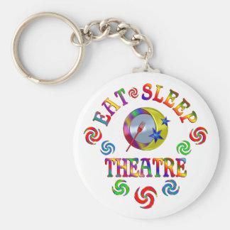 Porte-clés Mangez le théâtre de sommeil