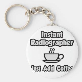 Porte-clés Manipulateur instantané. Ajoutez juste le café