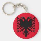Porte-clés Manteau des bras albanais