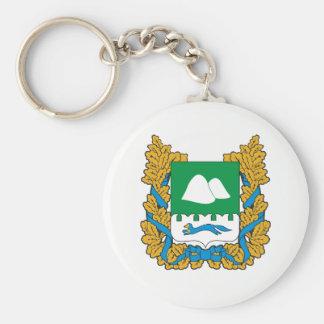 Porte-clés Manteau des bras de l'oblast de Kurgan