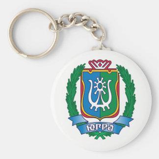 Porte-clés Manteau des bras de Yugra